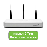 Cisco Meraki MX60W Wireless Security Appliance Bundle, 100Mbps FW, 5xGbE Ports - Includes 5 Years Enterprise License