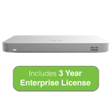 Cisco Meraki MX64 Small Branch Security Appliance with 3 Years Enterprise License