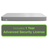 Cisco Meraki MX67 Small Branch Security Appliance with 1 Year Advanced Security License