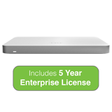 Cisco Meraki MX68 Small Branch Security Appliance with 5 Year Enterprise License