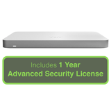 Cisco Meraki MX68 Small Branch Security Appliance with 1 Year Advanced Security License