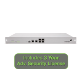 Meraki MX80 Security Appliance Advanced Security Bundle, 250Mbps FW, 5xGbE Ports with 3 Years Advanced Security License