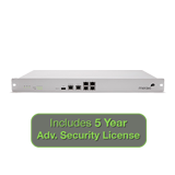 Meraki MX80 Security Appliance Advanced Security Bundle, 250Mbps FW, 5xGbE Ports with 5 Years Advanced Security License
