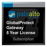 Palo Alto Networks PA-5020 GlobalProtect Gateway subscription for 5 years