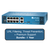Palo Alto Networks PA-220 Next-Gen Firewall Bundle w/1 Year Premium Support, URL Filtering & Threat Prevention Subscription