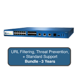 Palo Alto Networks PA-3020 Next-Gen Firewall Bundle w/3 Years Standard Support, URL Filtering & Threat Prevention Subscription