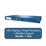 Palo Alto Networks PA-500 Next-Gen Firewall Bundle w/1 Year Standard Support, URL Filtering & Threat Prevention Subscription
