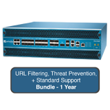 Palo Alto Networks PA-5250 Next-Gen Firewall Bundle w/1 Yr STD Support, URL Filtering & Threat Prevention Subscriptions - AC Pwr