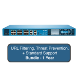 Palo Alto Networks PA-820 Next-Gen Firewall Bundle w/1 Year Standard Support, URL Filtering & Threat Prevention Subscription