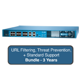 Palo Alto Networks PA-850 Next-Gen Firewall Bundle w/3 Year Standard Support, URL Filtering & Threat Prevention Subscription
