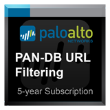 Palo Alto Networks PA-820 PAN-DB Filtering subscription for 5 years