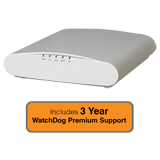 Ruckus Wireless R610 Dual-Band, 802.11ac Wireless Access Point with 3 Years WatchDog Premium Support