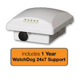 Ruckus Wireless ZoneFlex T300 Omni-Directional Outdoor Access Point Bundle with 1 Year WatchDog Premium Support