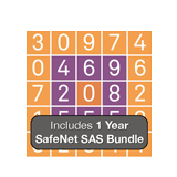 Gemalto / SafeNet SAS Cloud Two Factor Authentication 1-User Subscription, GrIDsure Software, Activation & 1 Year License
