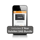 Gemalto / SafeNet SAS Cloud Two Factor Authentication 1-User Subscription, MobilePASS, Activation & 2 Years License