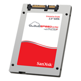 "SanDisk 200GB CloudSpeed Ultra™ 6Gb/s SATA 2.5"" SSD, MLC, Up to 450MBs Throughput, 5 Year Warranty"