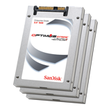 "SanDisk 200GB (10) Pack Optimus Extreme™ 6Gb/s SAS 2.5"" SSD, MLC, Up to 500MBs Throughput, Limited 5 Year Warranty"