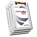"SanDisk 2TB (10) Pack Optimus Eco™ 6Gb/s SAS 2.5"" SSD, MLC, Up to 500MBs Throughput, Limited 5 Year Warranty"