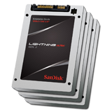 "SanDisk 200GB (10) Pack Lightning Ultra™ Gen. II 12Gb/s SAS 2.5"" SSD, SLC, Up to 1000MBs Throughput, 5 Year Warranty"