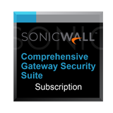 Comprehensive Gateway Security Suite Bundle for the SonicWall NSA 2600 - 3 Years