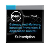 Gateway Anti-Malware, Intrusion Prevention and Application Control for the SonicWall NSA 4650 - 1 Year