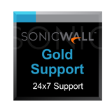 Gold 24x7 Support for the SonicWALL SuperMassive 9600 Next-Generation Firewall - 1 Year