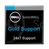 Gold Support 24x7 for the SonicWall NSA 6600 Firewall - 1 Year