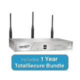 SonicWall NSA 220 Wireless-N TotalSecure Bundle - Includes NSA220 Wireless App. & 1 Year Comprehensive Gateway Security Suite