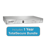 SonicWall NSA 250M TotalSecure Firewall Bundle - Includes NSA250M Appliance & 1 Year Comprehensive Gateway Security Suite