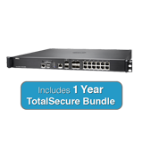 SonicWall NSA 5600 TotalSecure Firewall Bundle - Includes NSA 5600 Appliance & 1 Year Comprehensive Gateway Security Suite