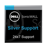 Silver Support 24x7 for the SonicWall NSv 200 Firewall - 1 Year