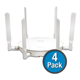 SonicWALL SonicPoint ACe (4-Pack) Wireless Access Point, Dual-Radio with PoE Injector - Includes 1 Year 24x7 Support