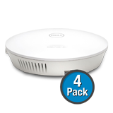 SonicWALL SonicPoint ACi (4-Pack) Wireless Access Point, Dual-Radio without PoE Injector - Includes 3 Years 24x7 Support