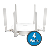 SonicWALL SonicPoint N2 (4-Pack) Wireless Access Point, Dual-Radio without PoE Injector - Includes 3 Years 24x7 Support