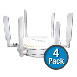 SonicWALL SonicPoint-N 4-Pack Wireless Access Points, Dual-Radio, without PoE Injector