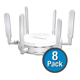 SonicWALL SonicPoint-N 8-Pack Wireless Access Points, Dual-Radio, without PoE Injector