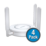 SonicWALL SonicPoint-Ne 4-Pack Wireless Access Points, Dual-Radio without PoE Injector