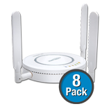 SonicWALL SonicPoint-Ne 8-Pack Wireless Access Points, Dual-Radio without PoE Injector