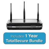 DELL SonicWALL SOHO Wireless-N TotalSecure Bundle - Includes SOHO Wireless Appliance & 1 Yr Comprehensive Gateway Security Suite