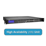 SonicWALL SuperMassive 9200 Next-Gen Firewall High Availability (HA) Unit - (Hardware Only - Requires Primary 9200)