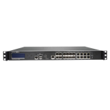 SonicWALL SuperMassive 9600 Next-Gen Firewall, 20 Gbps FW Throughput, (4x 10GbE SFP+, 8x 1GbE SFP, 8x 1GbE Ports)