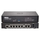 DELL SonicWALL TZ400 UTM Firewall Appliance - 4x800MHz cores, 7x1GbE interfaces, 1GB RAM, 64MB Flash (Hardware Only)