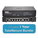 DELL SonicWALL TZ400 TotalSecure Bundle - Includes TZ 400 Appliance & 1 Year Comprehensive Gateway Security Suite