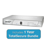 SonicWall TZ 215 TotalSecure Bundle - Includes TZ215 Appliance & 1 Year Comprehensive Gateway Security Suite
