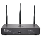 DELL SonicWALL TZ300W Wireless UTM Firewall - 802.11ac, 2x800MHz cores, 5x1GbE interfaces, 1GB RAM, 64MB Flash (Hardware Only)