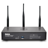 DELL SonicWALL TZ400W Wireless UTM Firewall - 802.11ac, 4x800MHz cores, 7x1GbE interfaces, 1GB RAM, 64MB Flash (Hardware Only)