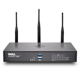 DELL SonicWALL TZ500W Wireless UTM Firewall - 802.11ac, 4x1GHz cores, 8x1GbE interfaces, 1GB RAM, 64MB Flash (Hardware Only)