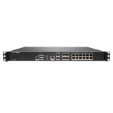 SonicWall NSA 4600 Network Security Firewall, 16x 1GbE Ports, 2x 10GbE Ports, 6.0Gbps Throughput (Hardware Only)