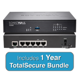 SonicWALL TZ300 TotalSecure Bundle - Includes TZ 300 Appliance & 1 Year Comprehensive Gateway Security Suite