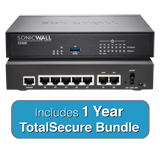 SonicWALL TZ400 TotalSecure Bundle - Includes TZ 400 Appliance & 1 Year Comprehensive Gateway Security Suite